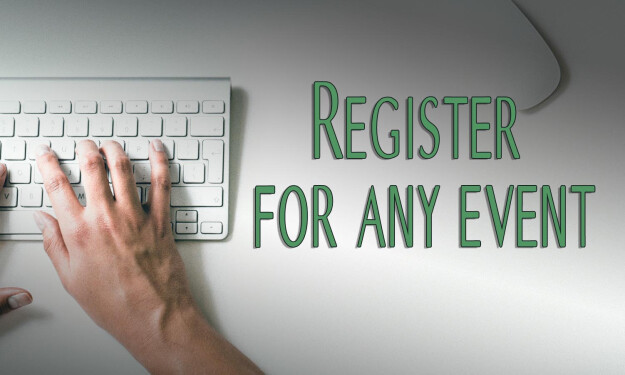 Register for any event