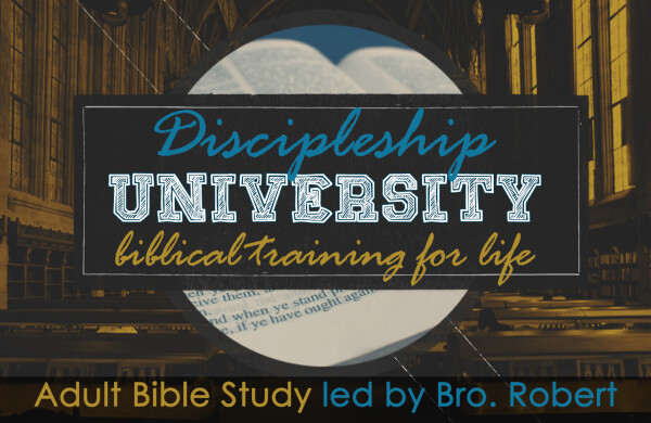 Series: Discipleship University