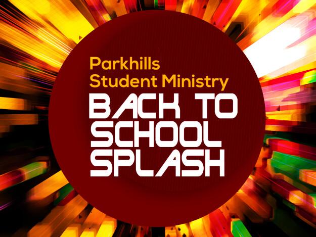 Student Back to School Splash