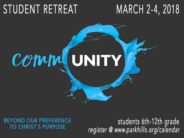 Student Ministry Retreat