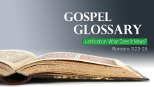 Justification: What Does It Mean? (Audio Only)